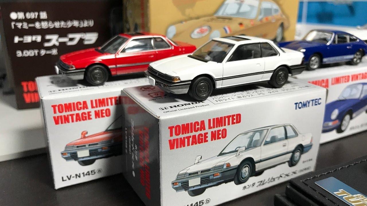 Honda Prelude 2017 >> Lamley Showcase 2017 Tomica Limited Vintage Porsche 911 Honda Prelude Toyota Supra