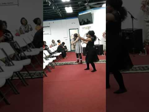 Tell me what can I do:praise dance by Greater outreach ministry .
