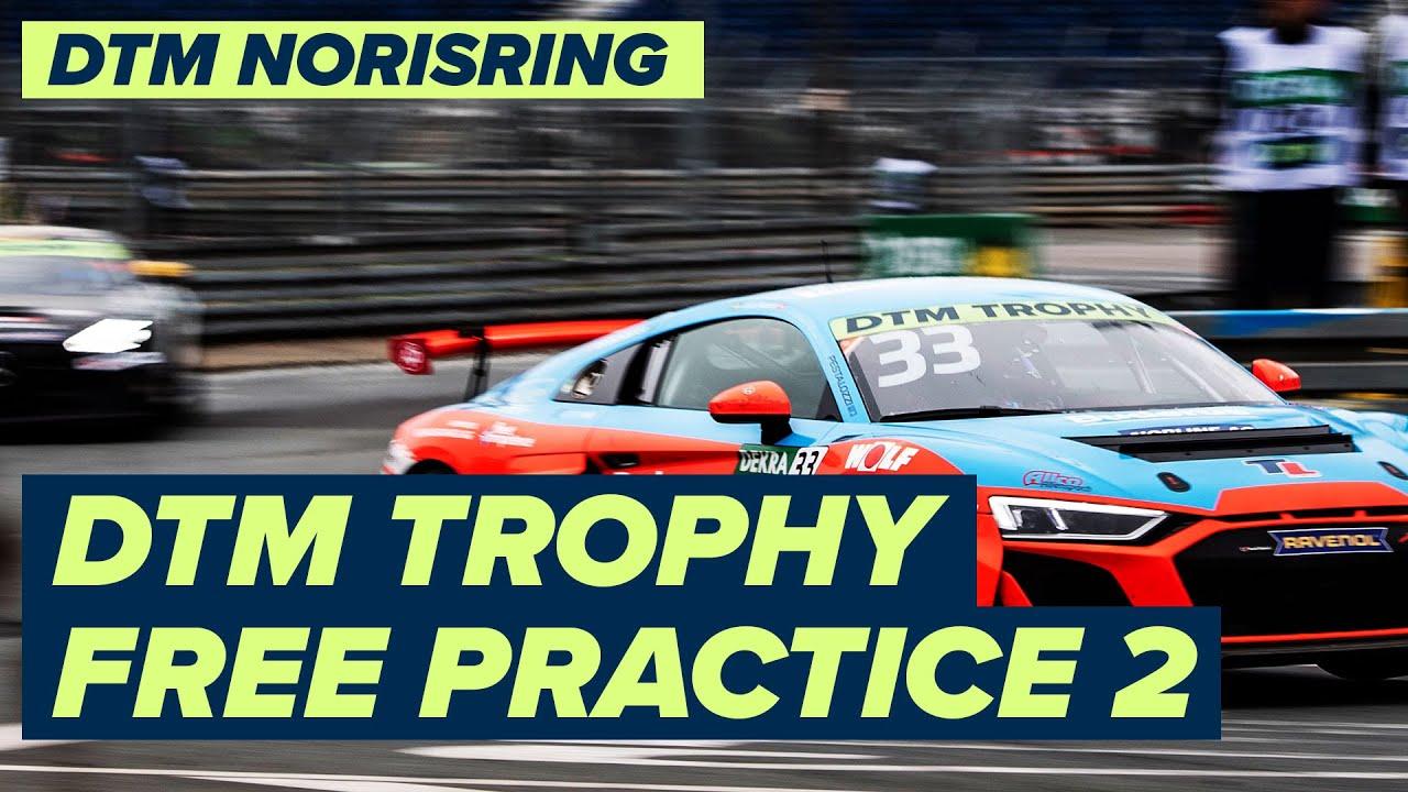 RE-LIVE | DTM Trophy - Free Practice 2 Norisring | 2021