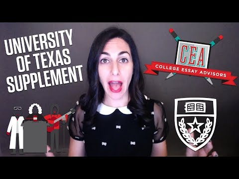 Guide to the 2017-2018 University of Texas - Austin Essay Pr
