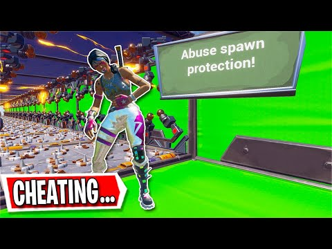 You Have To CHEAT To Beat This Deathrun... (Fortnite Creative)