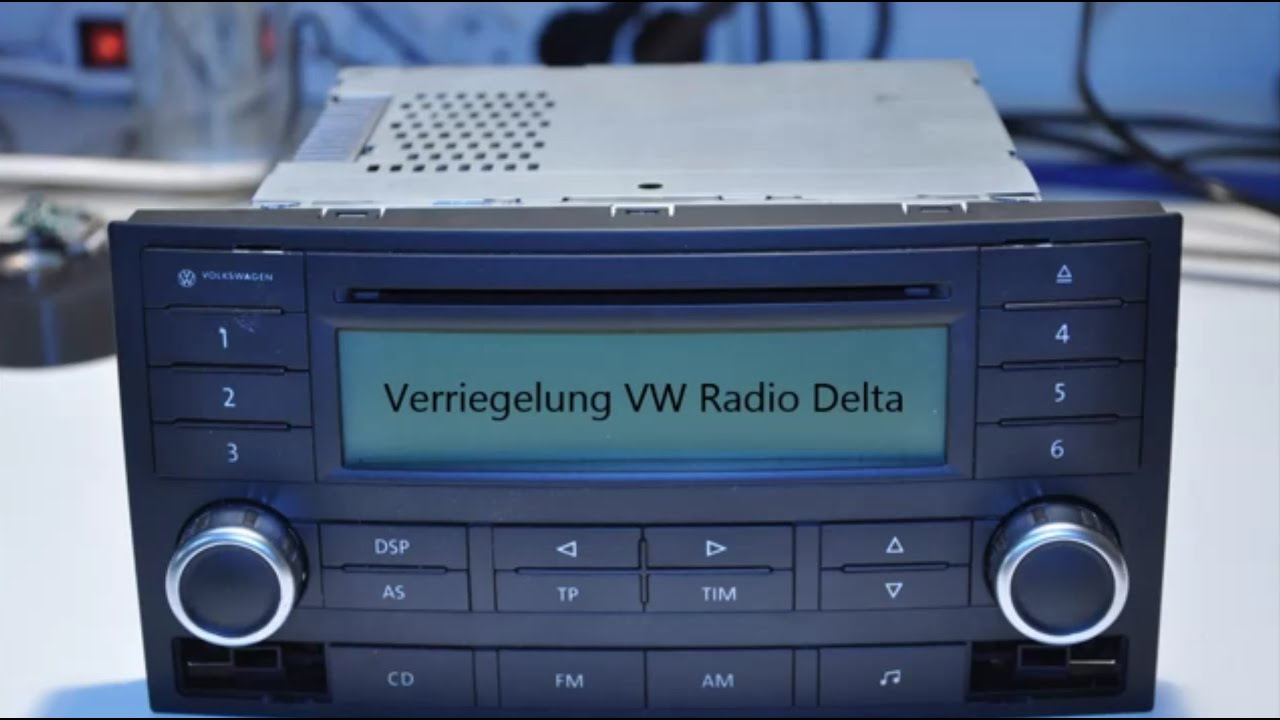 vw t5 radio delta ausbauen remove youtube. Black Bedroom Furniture Sets. Home Design Ideas