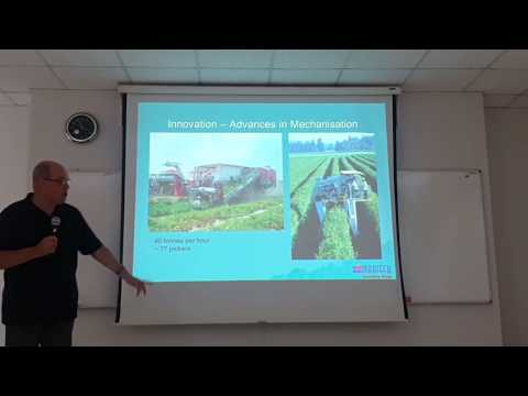 Special lecture: Future Trends in Horticulture Production