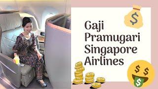GAJI PRAMUGARI SINGAPORE AIRLINES