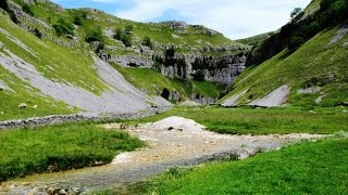 Yorkshire Dales Country Walk - Malham - Gordale Scar - Malham Tarn - Malham Cove round