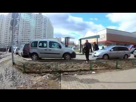 Подольск. Новый  ТЦ на ул. Ленинградской.