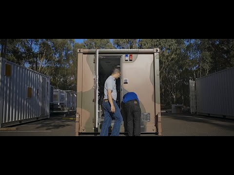 Next Generation Deployable Facility (NGDF) portable cabin concept demonstrator