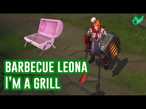 Barbecue Leona Gameplay | I'm a grill