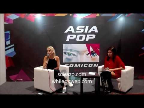 Claire Holt media session at Asia POP Comicon Manila