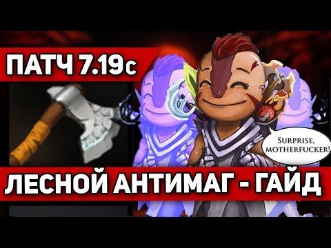 видео: ГАЙД НА ЛЕСНОГО АНТИМАГА - ПАТЧ 7 19с   antimage dota 2