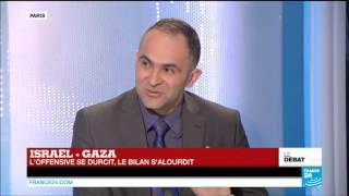 Courageux palestinien face à horrible sioniste