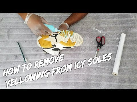 How To Remove Yellowing From Icy Soles