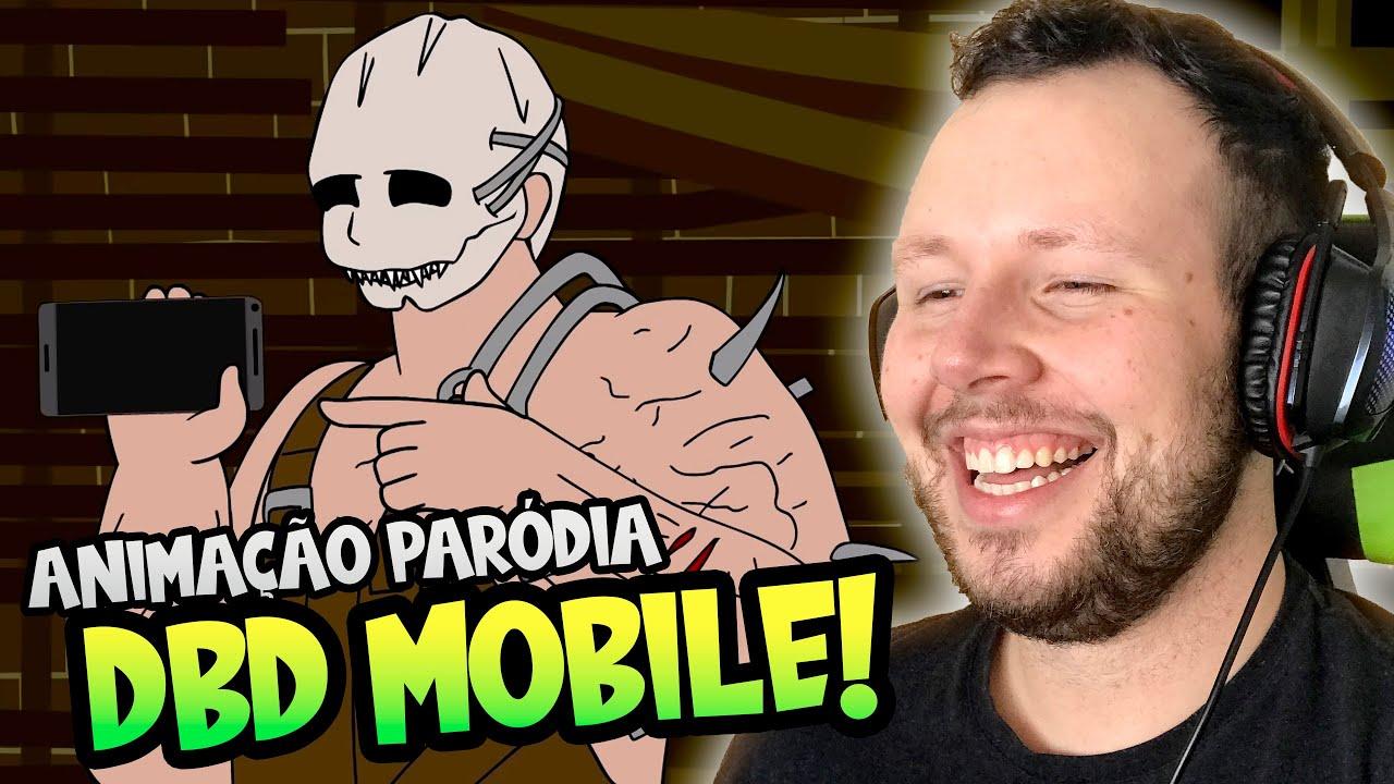 REAGINDO A UMA ANIMAÇÃO PARÓDIA DE DBD MOBILE! | Dead by Daylight React