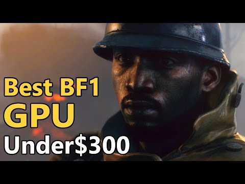 Best BF1 GPU Under $300? | AMD RX480 vs GTX 1060