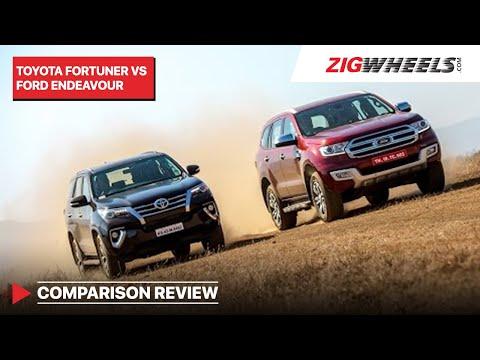 Toyota Fortuner vs Ford Endeavour | ZigWheels