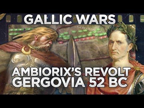 Gergovia 52 BC - Caesar's First Defeat DOCUMENTARY