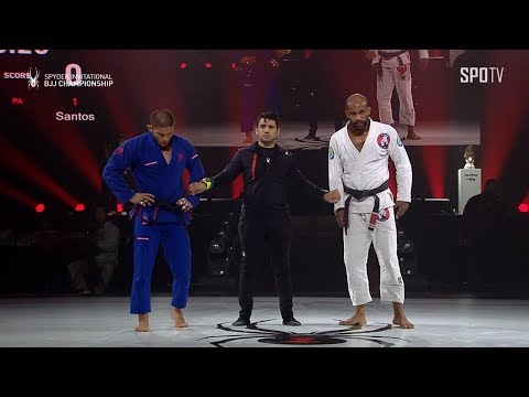 [2019 SPYDER INVITATIONAL BJJ CHAMPIONSHIP FINAL]-100kg Claudio Calasans vs Erberth Santos