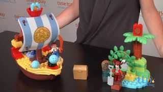 Lego Duplo Jake And The Never Land Pirates Jake's Pirate Ship Bucky From Lego