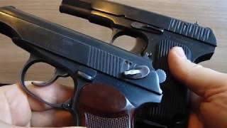 Пневматические пистолеты : мр- 656 к,мр-654 к,Colt Gletcher 1911.Для новичков краткий видеообзор.
