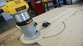 Build A Better Circle Cutting Jig Pt. 2