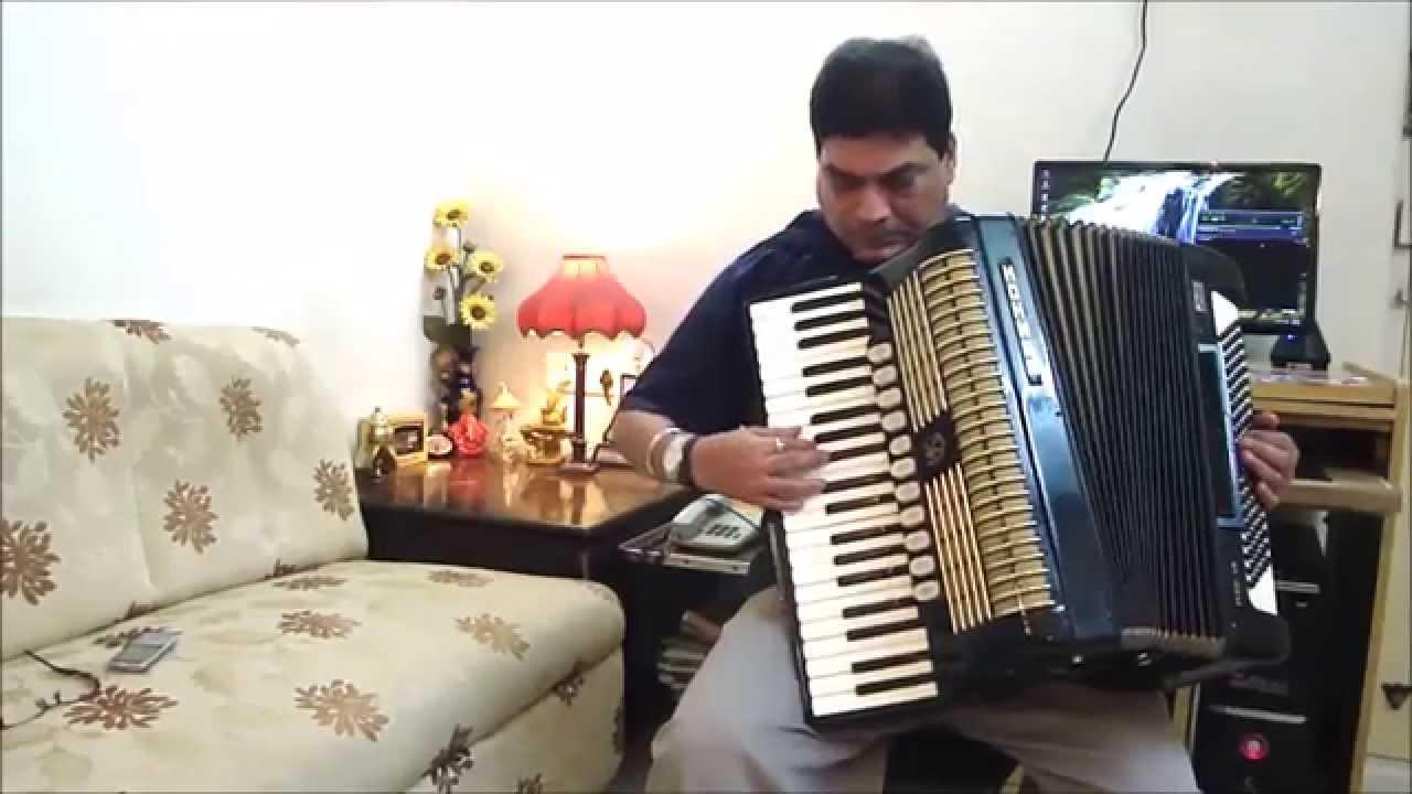 accordion instrumental music hindi - youtube