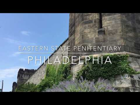 Tour of Eastern State Penitentiary in Philadelphia