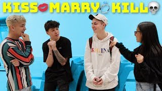 KISS, MARRY OR KILL | Public Interview!