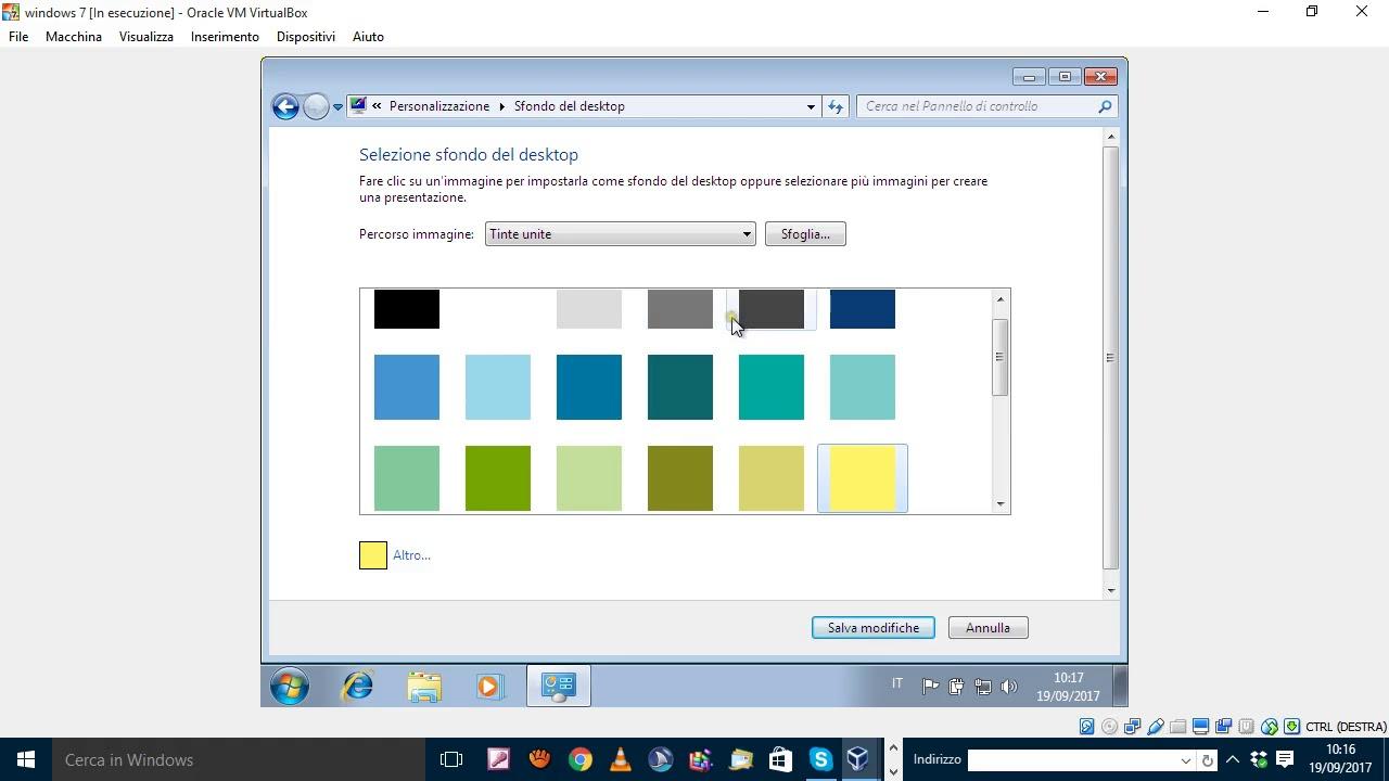Modificare Sfondo Desktop Windows 7 Per Ipovedenti Youtube