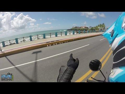 Motovlog - de norte a sul - via costeira em Natal RN - so moto irada