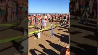 """Disc Dog coi ragazzi della Hard Disc Dog a """"ISLAMORADA - Dog Beach"""""""