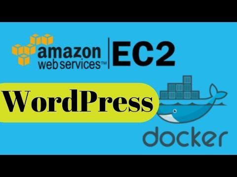 Running WordPress in the Docker of AWS EC2 Instance
