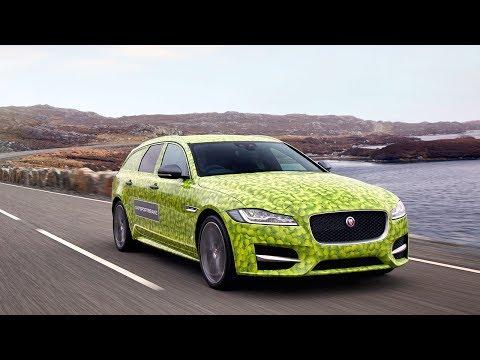 Jaguar XF Sportbrake - de camino a Wimbledon.