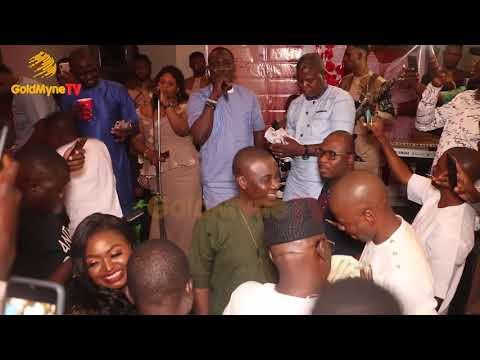 PASUMA AND K1 DE ULTIMATE SHOW LOVE TO EACH OTHER AT JUMOKE OLASOJU'S 40TH BIRTHDAY