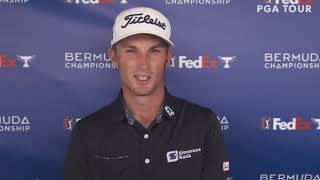 Will Zalatoris Tuesday Press Conference 2020 Bermuda Championship