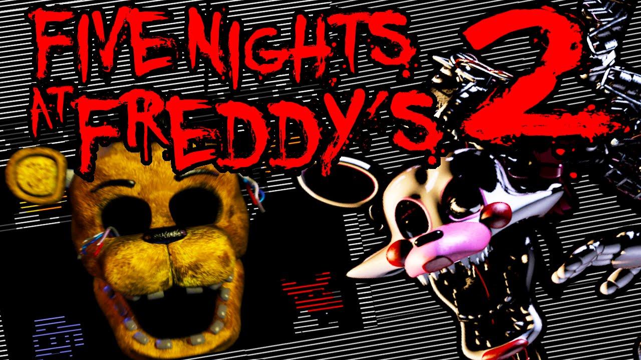 Five Nights at Freddy's 2 NIGHT 2 & 3 Golden Freddy Secret