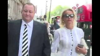 Mike Ashley arrives to face MP's with