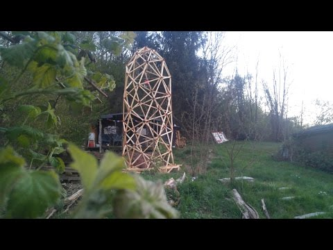 GROWINGTOWER Trailer - A geodesic structure