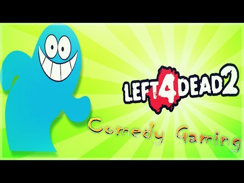 Left 4 Dead 2 - Fosters Home Edition - Escaping Loony Park - Comedy Gaming