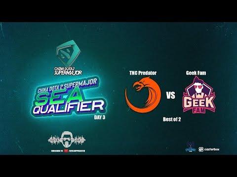 [DOTA 2 PH LIVE] TNC PREDATOR VS  ThePrime.NND |Bo2| China Dota2 Supermajor  - Regional Qualifiers