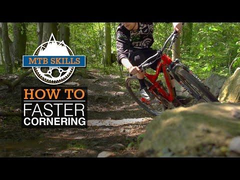 Faster Cornering - MTB Skills