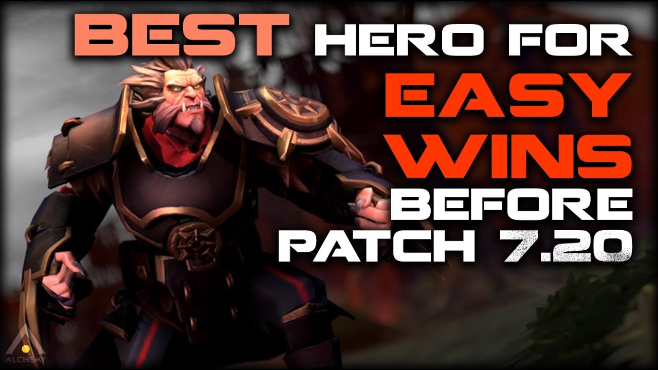 Dota 2 Play This Hero For Easy MMR Until Patch 720 Pro