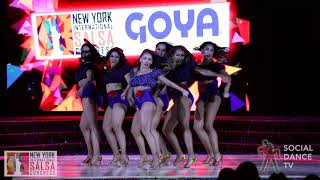 Karel Flores Ladies Pro Team, NY  - Show | New York International Salsa Congress 2018