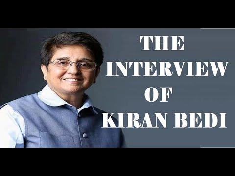 Kiran Bedi Interview in English