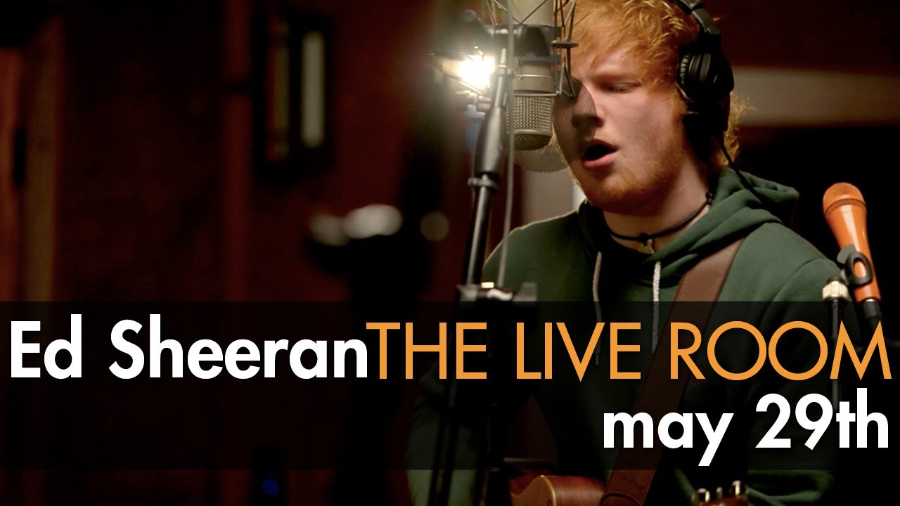 ed sheeran in the live room ed sheeran captured in the live room trailer 24241
