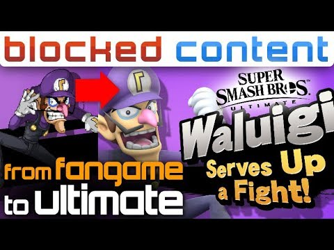 WALUIGI Is CONFIRMED For SSF2! We Talk About Smash Bros  Ultimate (And  Beyond!)