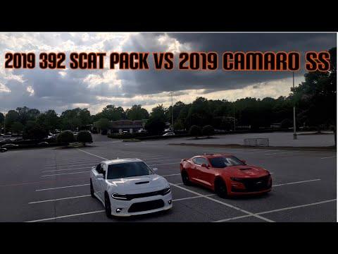 2019 392 CHARGER SCAT PACK VS 2019 CAMARO SS | 392 BROWNBEAR