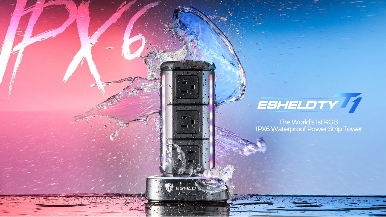 T1: World's 1st RGB IPX6 Waterproof Power Tower | Indiegogo