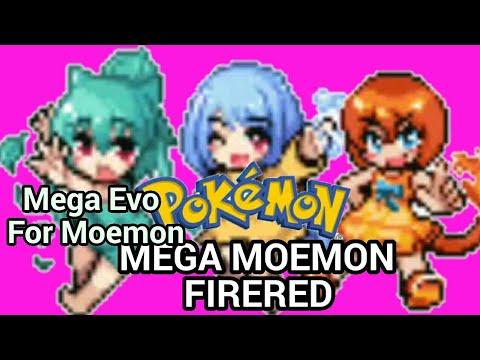 Mega Moemon Pokémon Fire Red : Moemon from 5th Generation and Mega Evo in  Battle for Moemon