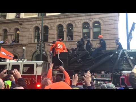 Broncos Superbowl Parade