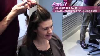 Préparation pour le réveillon : La coiffure avec un headband